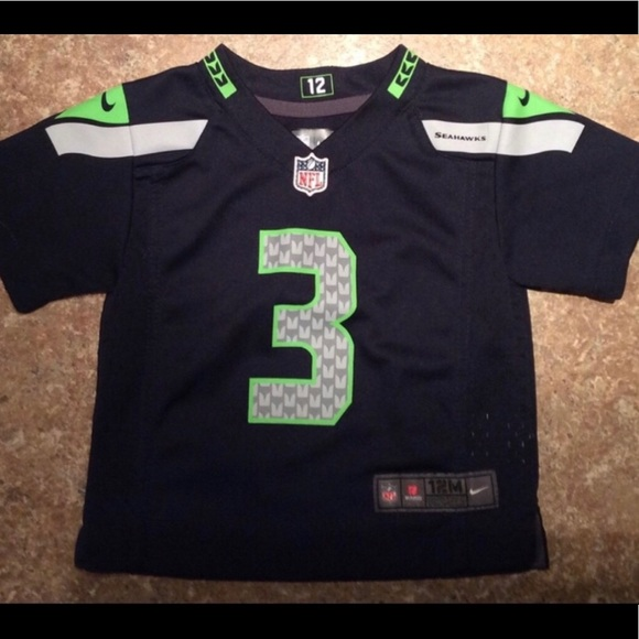 new arrival 22d29 41ed4 Seattle Seahawks #3 Toddler jersey